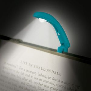 MINI LINTERNA AZUL THE REALLY TINY BOOK LIGHT