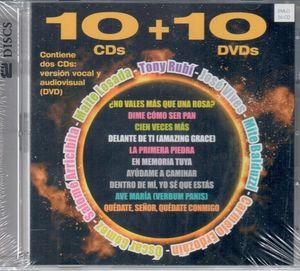 10 + 10 CANCIONES RELIGIOSAS DE JUBILO Y COMPROMISO (CD+DVD)