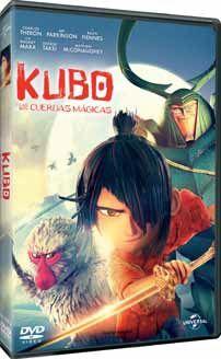 KUBO Y LAS DOS CUERDAS MAGICAS (DVD)