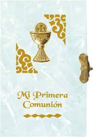 MISALITO COMUNION NACAR FILIGRANA  CALIZ DEVOCIONARIO 25120