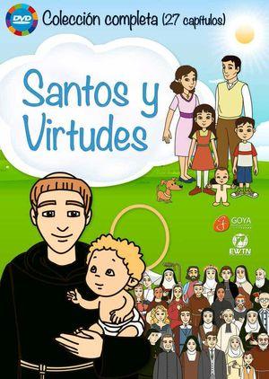 PACK SANTOS Y VIRTUDES. 27 CAPÍTULOS (DVD)