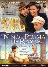 VIDA ES BELLA+EL NIÑO CON EL PIJAMA DE RAYAS