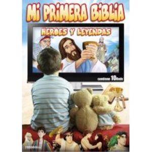 MI PRIMERA BIBLIA HEROES Y LEYENDAS 10DVD