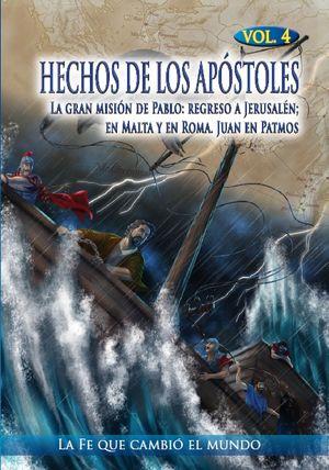 HECHOS DE LOS APÓSTOLES VOL.4 (DVD)