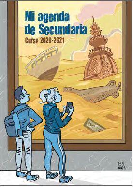 MI AGENDA DE SECUNDARIA 2020-2021