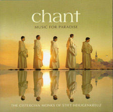 MUSIC FOR PARADISE CHANT (CD)