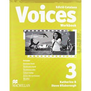 VOICES 3 WB PACK CAT