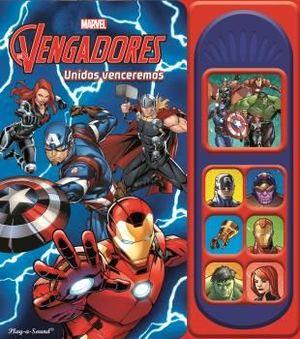 LOS VENGADORES 7 BOTONES DE SONIDO