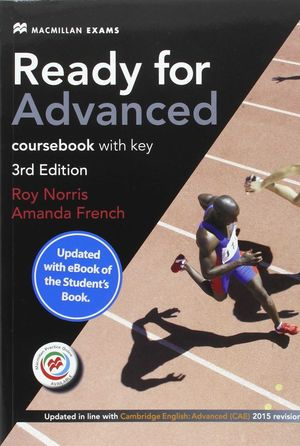 READY FOR ADVANCED (STUDENT´S WITH KEY + CODIGO EBOOK PACK 2016