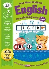 LEAP AHEAD: 4-5 YEARS ENGLISH