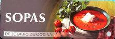 SOPAS RECETARIO DE COCINA