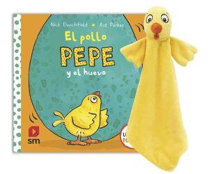 PACK POLLO PEPE Y EL HUEVO + DOUDOU