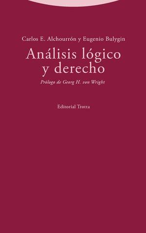 ANÁLISIS LÓGICO Y DERECHO