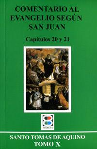 COMENTARIO AL EVANGELIO SAN JUAN 10