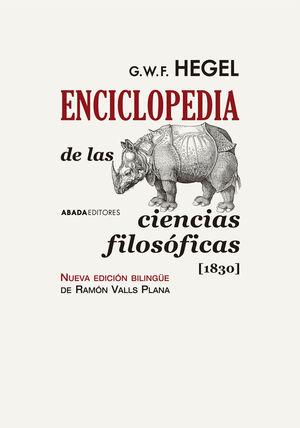 ENCICLOPEDIA DE LAS CIENCIAS FILOSÓFICAS  [1830]