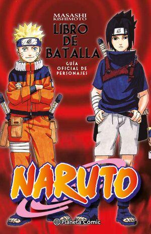 NARUTO GUIA Nº02 LIBRO DE BATALLA