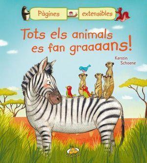 TOTS ELS ANIMALS ES FAN GRAAAANS!