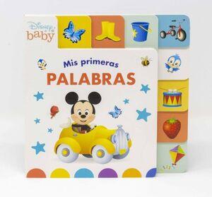 DISNEY BABY. MIS PRIMERAS PALABRAS