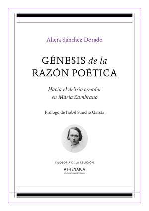 GÉNESIS DE LA RAZÓN POÉTICA. HACIA EL DELIRIO CREADOR EN MAR