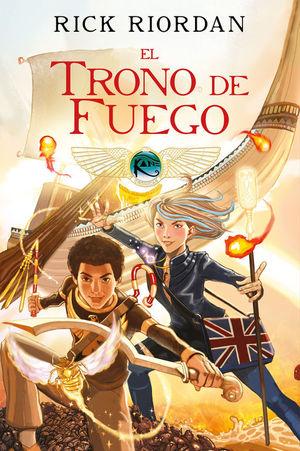 EL TRONO DE FUEGO (LAS CRÓNICAS DE LOS KANE [CÓMIC] 2)