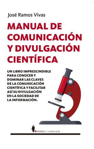 MANUAL DE COMUNICACIÓN Y DIVULGACIÓN CIENTÍFICA