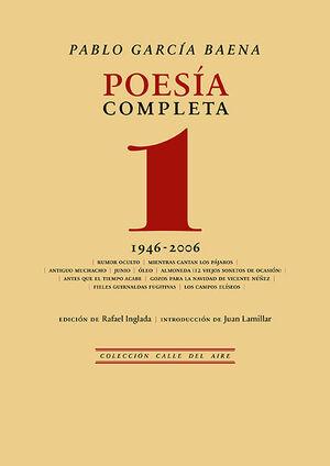 POESÍA COMPLETA, 1