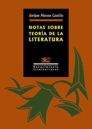 NOTAS SOBRE TEORÍA DE LA LITERATURA