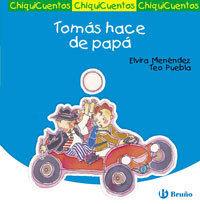 TOMÁS HACE DE PAPÁ