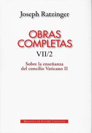 OBRAS COMPLETAS DE JOSEPH RATZINGER VII/2