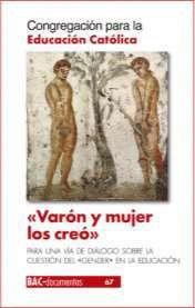 VARÓN Y MUJER LOS CREÓ