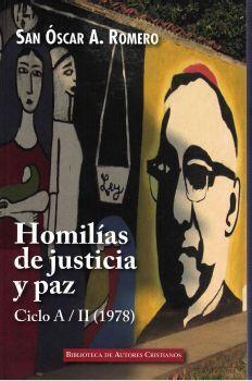 HOMILÍAS DE JUSTICIA Y PAZ. CICLO A/II (1978)