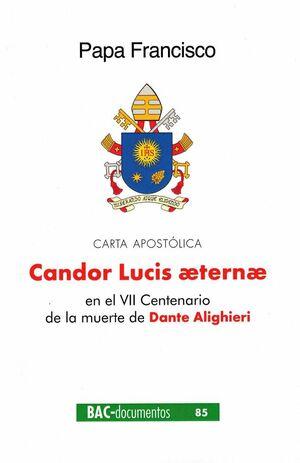 CANDOR LUCIS AETERNAE (CARTA APOSTÓLICA)