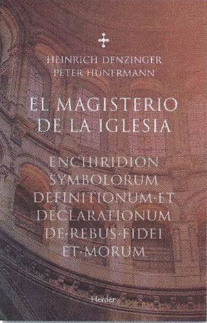 MAGISTERIO DE LA IGLESIA, EL