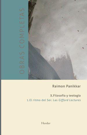 RITMO DEL SER, EL. LAS GIFFORD LECTURES (O.C. VOL. X.1)