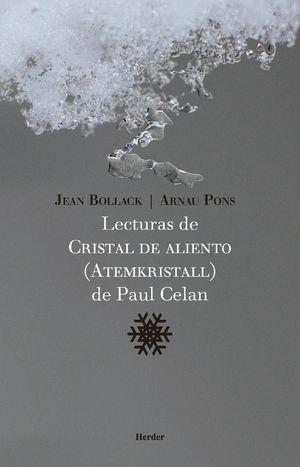 LECTURAS DE CRISTAL DE ALIENTO DE PAUL CELAN
