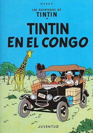 TINTÍN EN EL CONGO - CARTONE