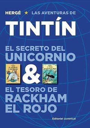 TINTÍN EL SECRETO DEL UNICORNIO & EL TESORO DE RACKHAM EL ROJO