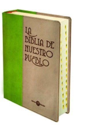 BIBLIA DE NUESTRO PUEBLO PIEL DOS TONOS