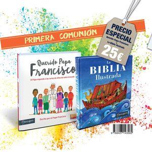 PACK QUERIDO PAPA FRANCISCO + LA BIBLIA ILUSTRADA
