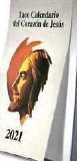 TACO CALENDARIO CORAZÓN DE JESÚS 2021 (CLÁSICO)