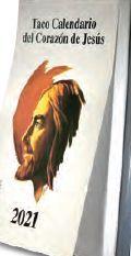 TACO CALENDARIO CORAZÓN DE JESÚS 2021 (CON IMÁN)