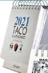 TACO CALENDARIO CORAZÓN DE JESUS 2021 C/PEANA