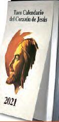TACO CALENDARIO CORAZÓN DE JESÚS 2021 - GIGANTE