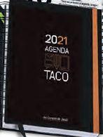 AGENDA TACO 2021 - NARANJA