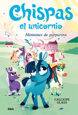 CHISPAS  EL UNICORNIO 2. MONTONES DE PURPURINA