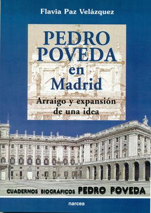 PEDRO POVEDA EN MADRID