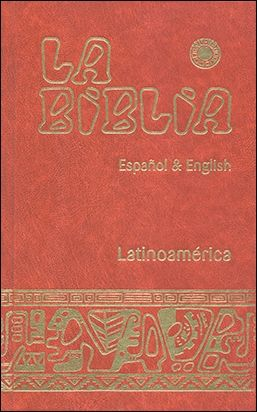 BIBLIA LATINOAMÉRICA  - ESPAÑOL & ENGLISH (CARTONÉ)