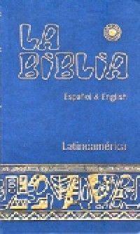 LA BIBLIA LATINOAMÉRICA  - ESPAÑOL & ENGLISH (SÍMIL-PIEL)