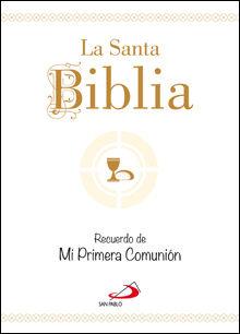 LA SANTA BIBLIA. RECUERDO DE MI PRIMERA COMUNIÓN. TAMAÑO BOLSILLO