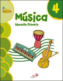 MÚSICA 4 - PROYECTO PIZZICATO - LIBRO DEL ALUMNO